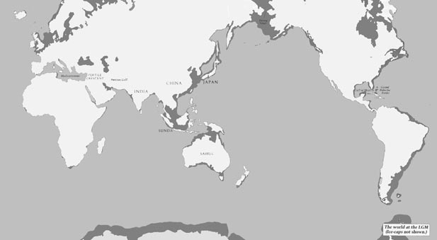 World at last glacial maximum